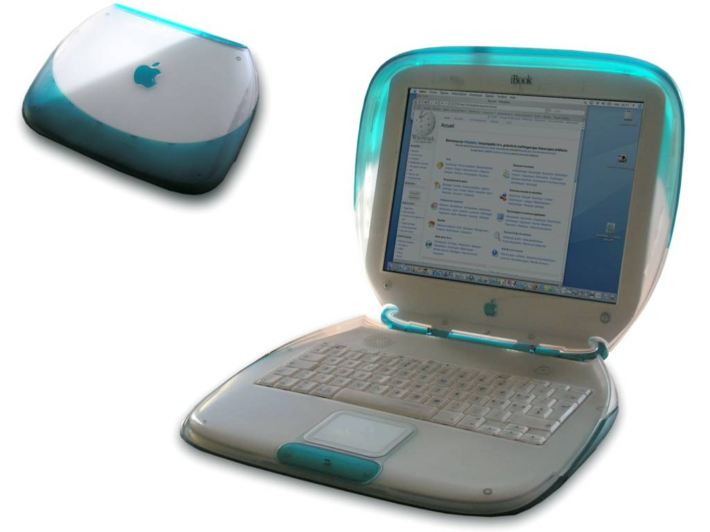 iBook G3 Jony Ive