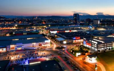 Il centro commerciale del futuro: AV Living Lab di Lubiana