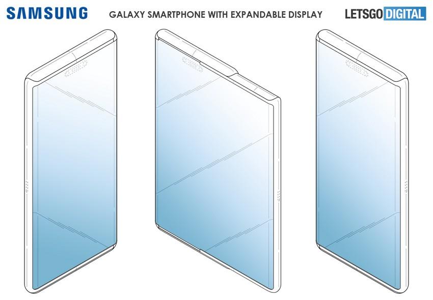 Brevetto Samsung espandibile