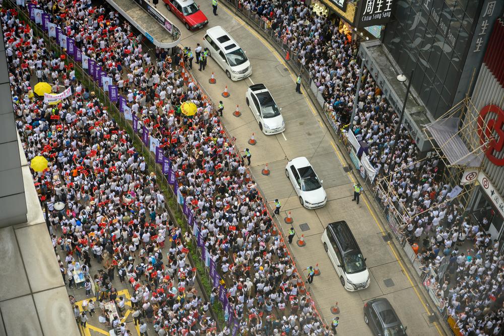 Proteste di Honk Kong