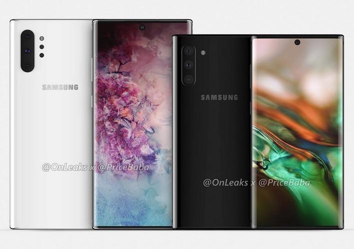 Samsung Galaxy Note 10 e Note 10+