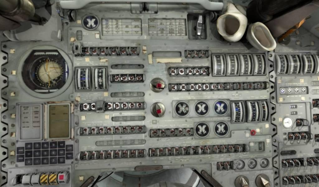 Apollo 11 tecnologia sulla Luna