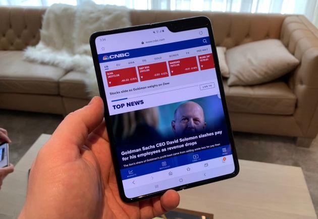 Samsung: nuovi rumors su pieghevole a conchiglia previsto per il 2020