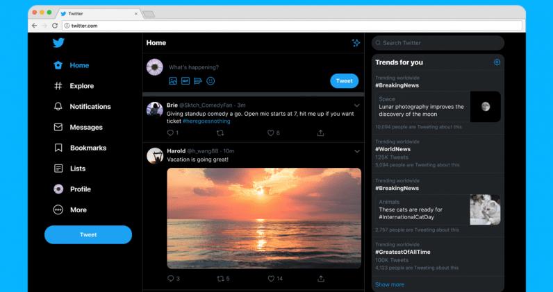 Nuovo Design di Twitter