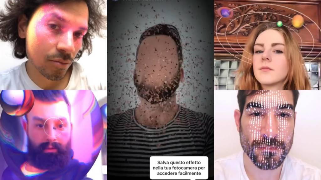 Instagram effetti AR personalizzati