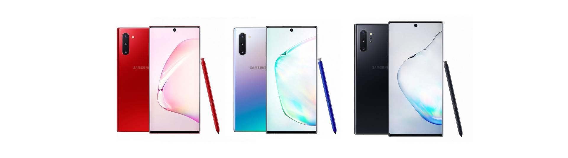Samsung Galaxy Note 10 e Galaxy Note 10+: caratteristiche e prezzo