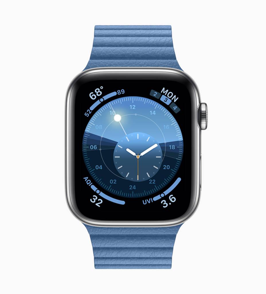 Apple Watch con WatchOS 6