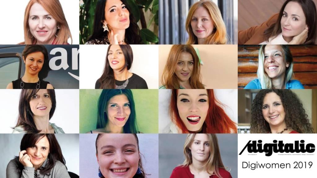 Le Donne più influenti del digitale 2019: Digiwomen Diggitalic