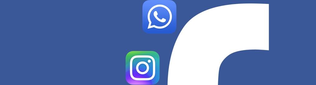 Facebook vuole cambiare nome a Instagram e WhatsApp