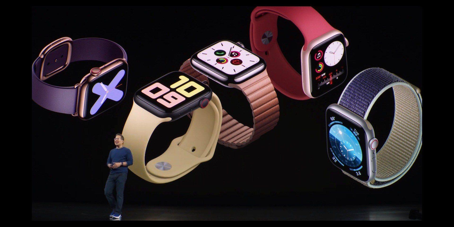 Apple Watch Series 5: display sempre attivo e bussola integrata