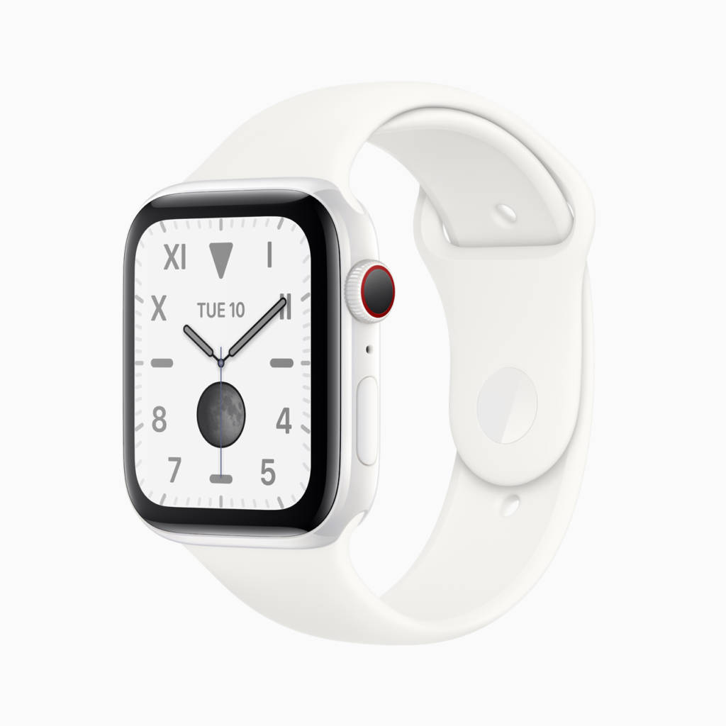 Novità Apple Watch serie 5