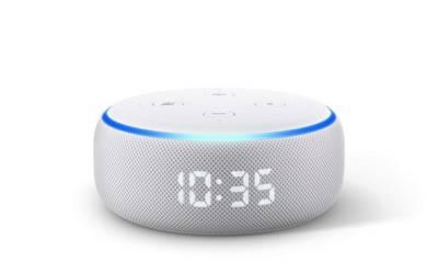 Echo Dot orologio