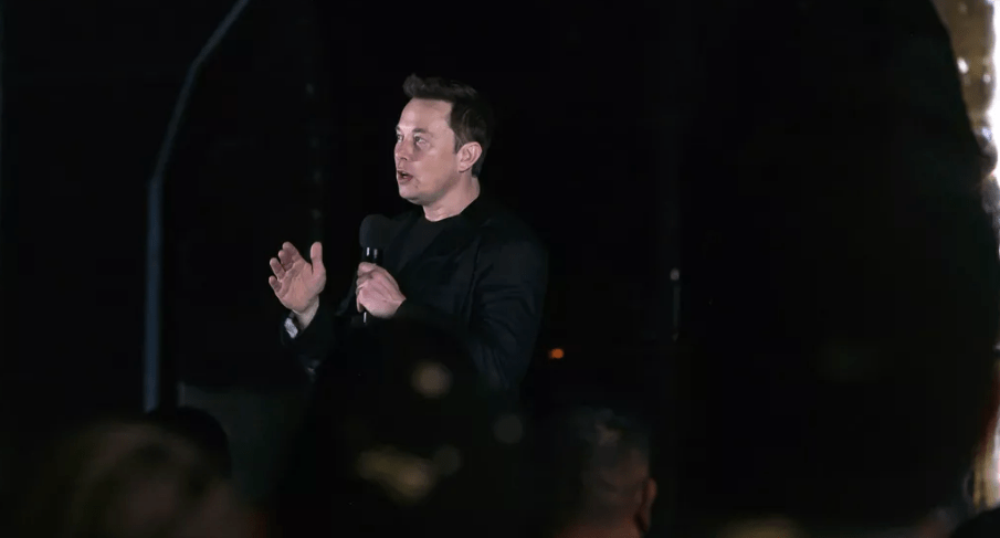 Elon Musk presentazione Starship