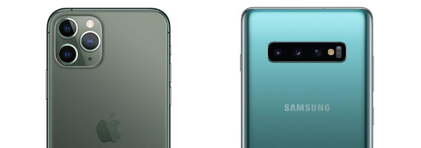 otocamere iPhone 11 Pro vs Galaxy S10+