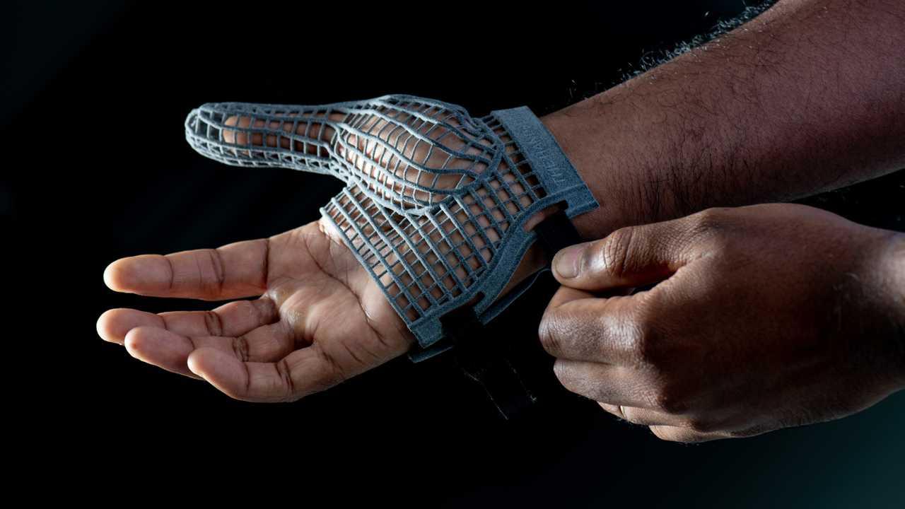 Guanto stampato in 3D per proteggere le mani dei lavoratori