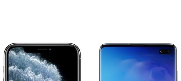 Notch iPhone 11 Pro vs Galaxy S10