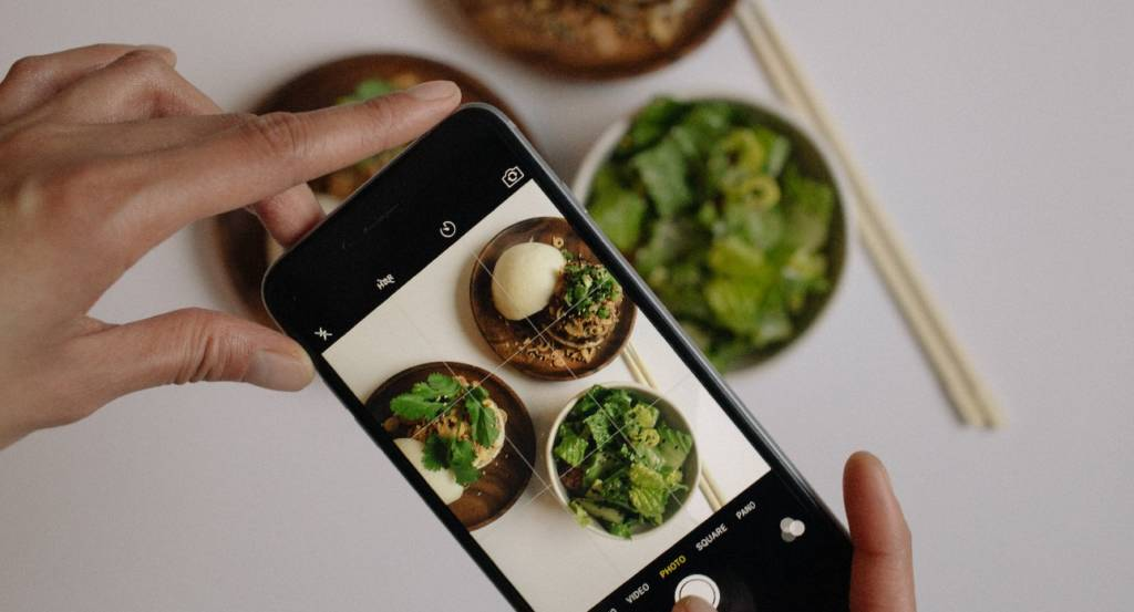 Prodotti dietetici su Instagram