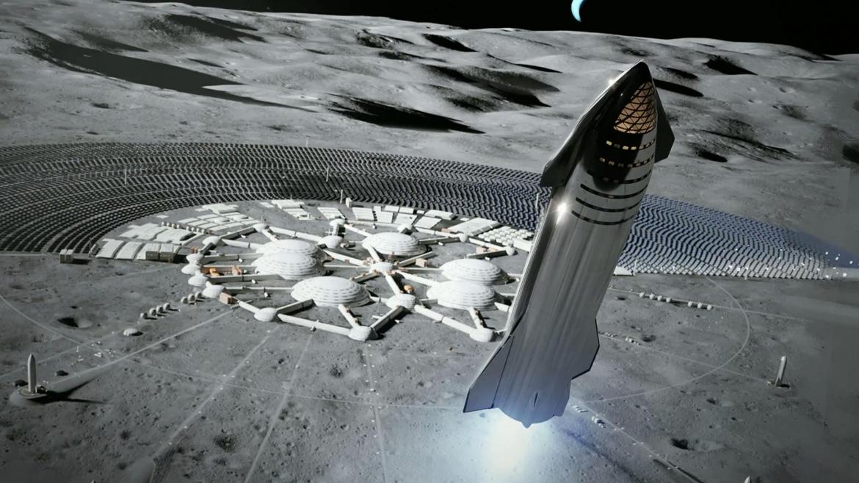 Starship il super razzo di Elon Musk per far volare l'uomo sulla Luna e Marte