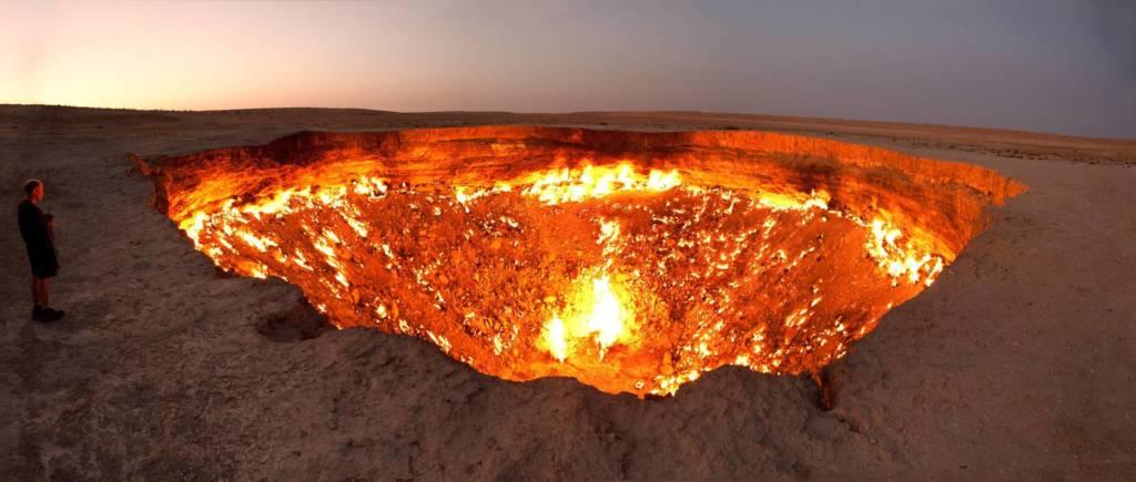 cratere di Derweza