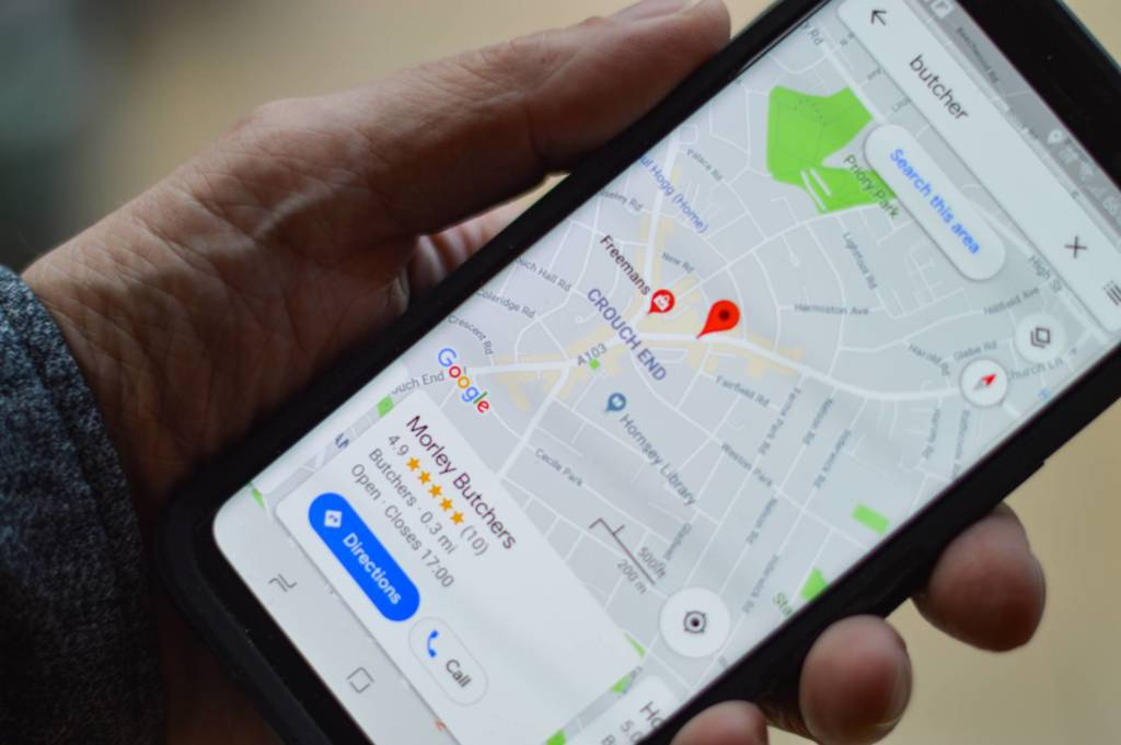 google maps in incognito