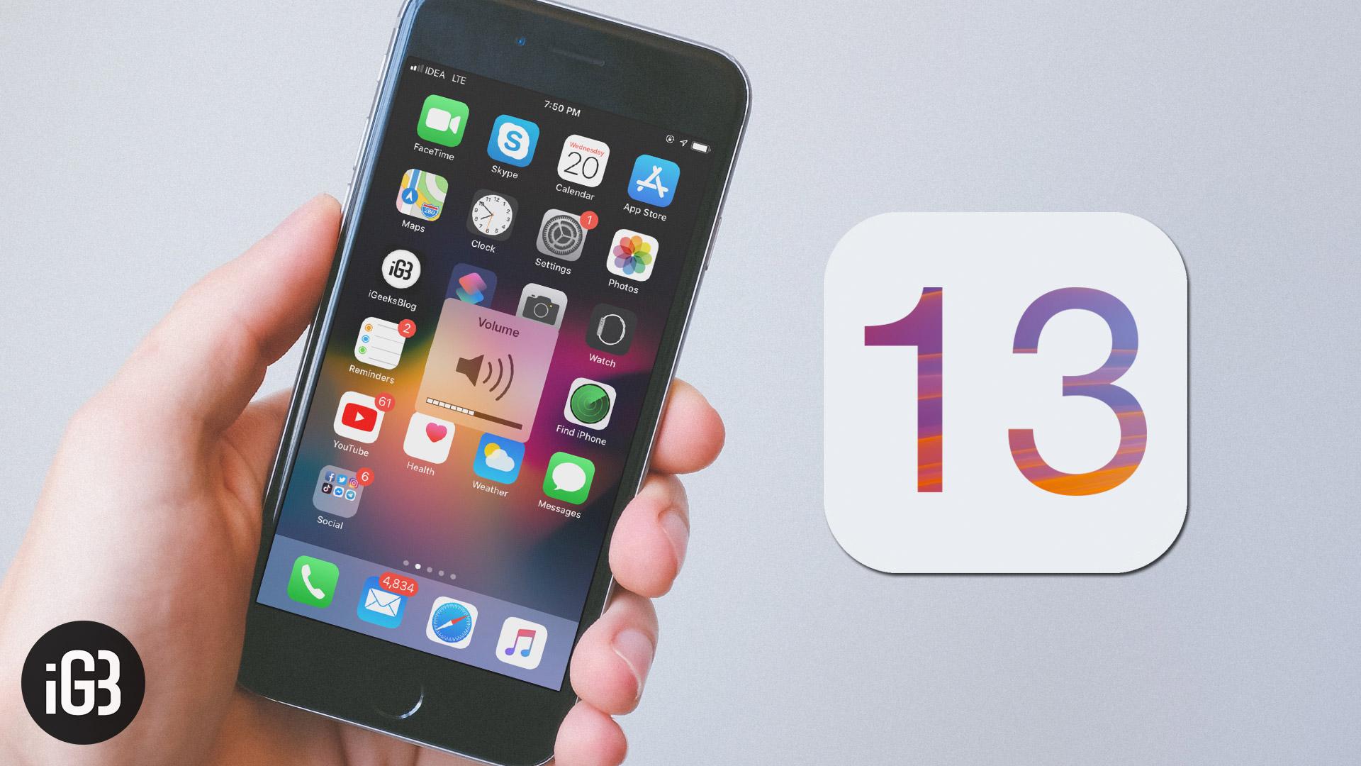 Funzionalità di iOS 13: le principali da conoscere prima dell'aggiornamento