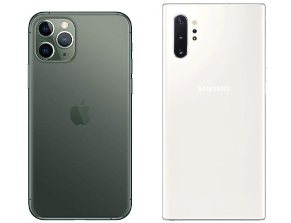 iPhone 11 Pro Max vs Galaxy Note 10 Plus retro