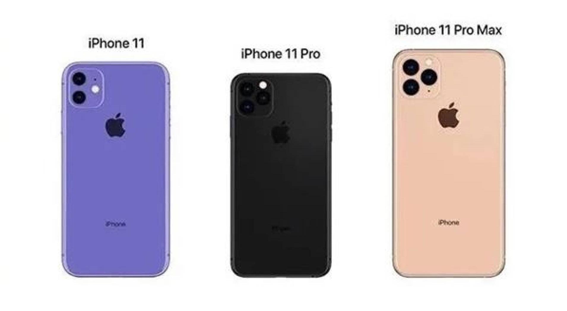 iPhone 11: in rete le presunte schede tecniche dei 3 modelli