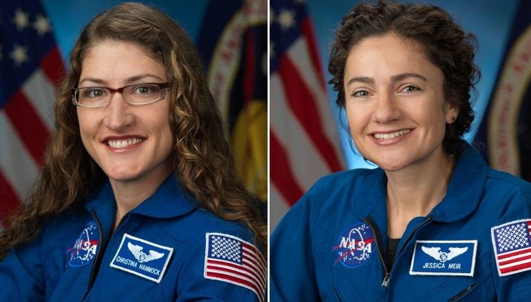 Christina Koch e Jessica Meir