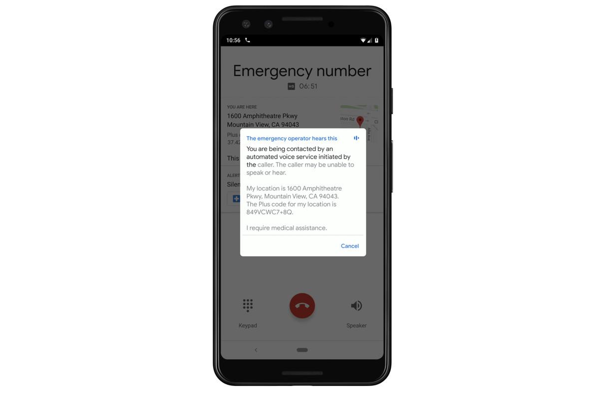 Con i telefoni di Google avrai assistenza in caso di emergenza