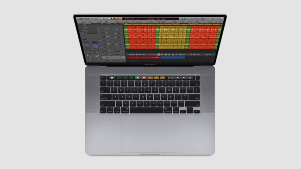 MacBook Pro da 16 tastiera