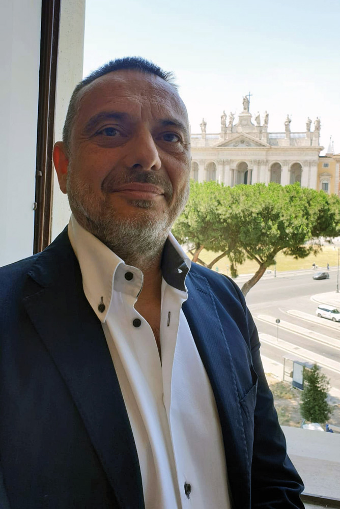 Stefano Rocchi, AD Axios Italia