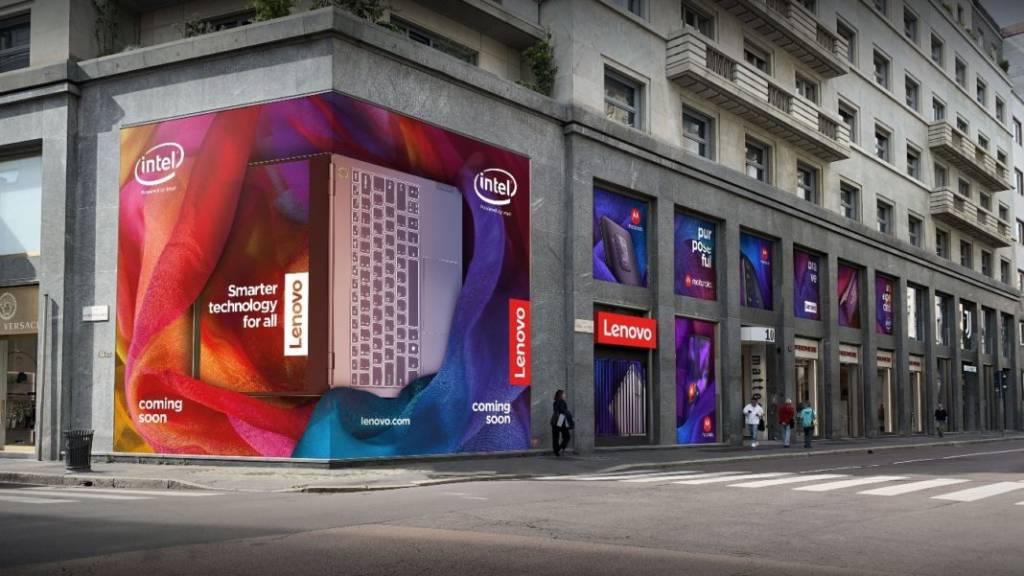 Lenovo apre a Milano