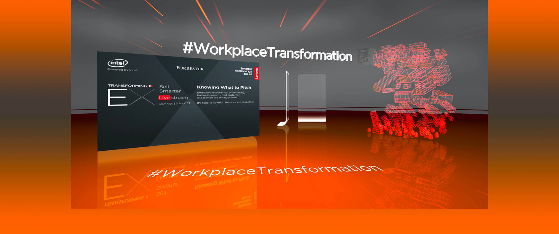 Workplace Transformation: l'evento in streaming con Lenovo, Intel e Forrester powered by Digitalic
