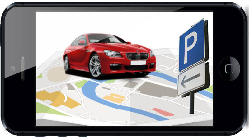 app per parcheggiare