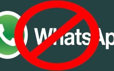 Profili WhatsApp cancellati, nomi sospetti vengono bannati