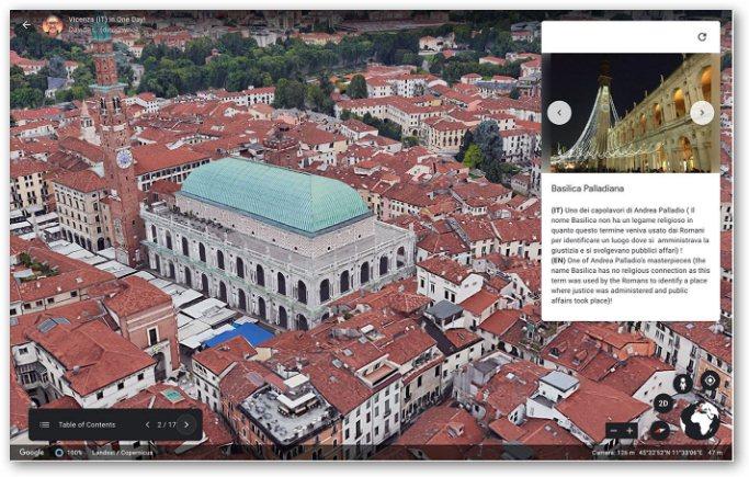 storie su Google Earth