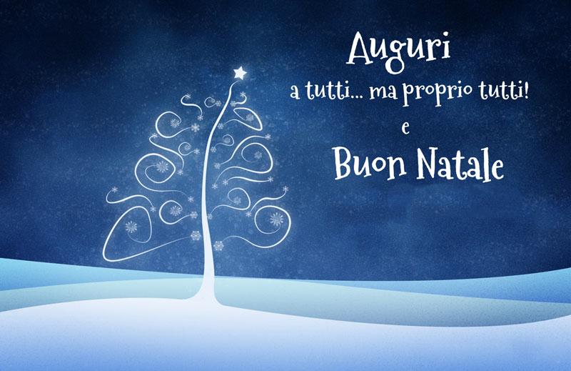 Auguri di Natale a tutti