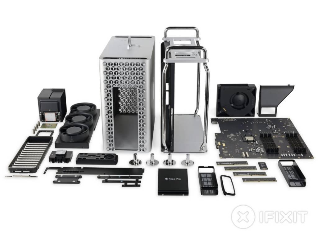 Mac Pro teardown iFixit