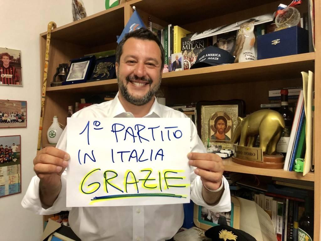 Matteo Salvini twitter