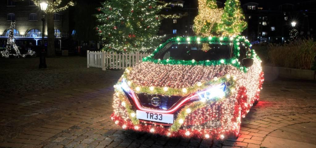 Nissan LEAf diventa Nissan TREE