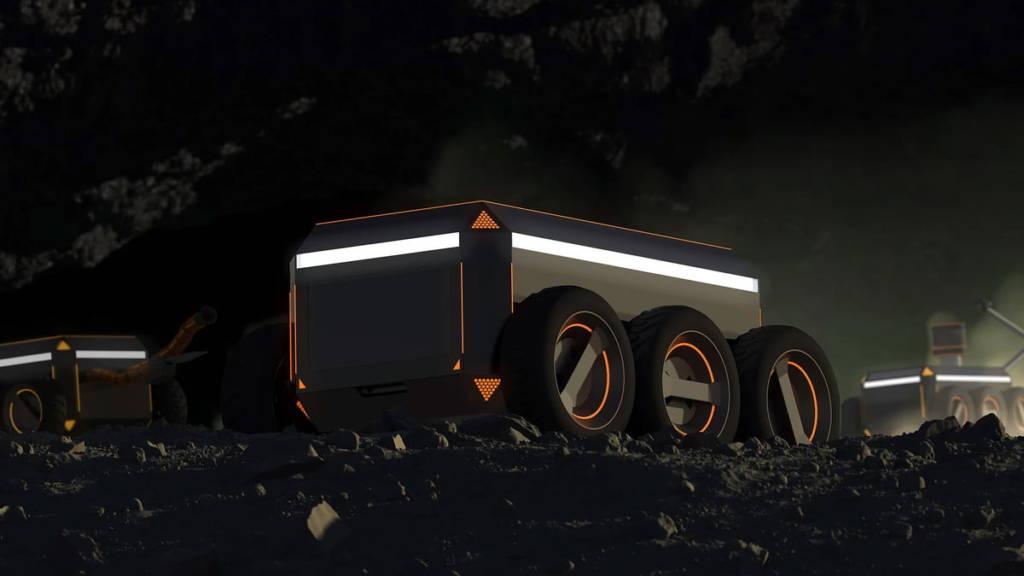Robot minatori Offworld