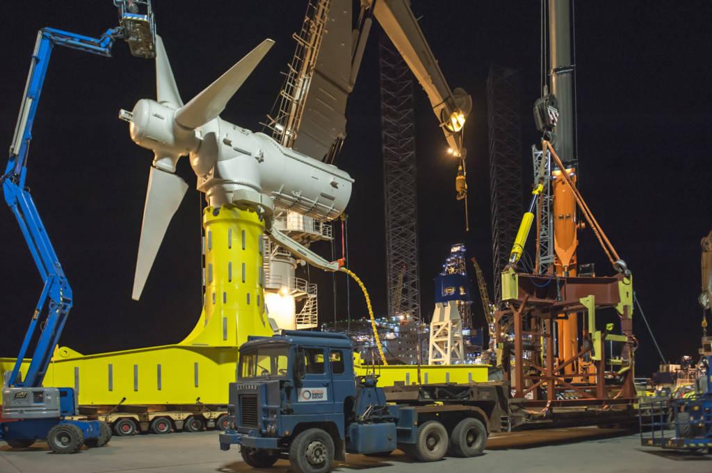 La Turbina per energia mareomotrice SIMEC Atlantis