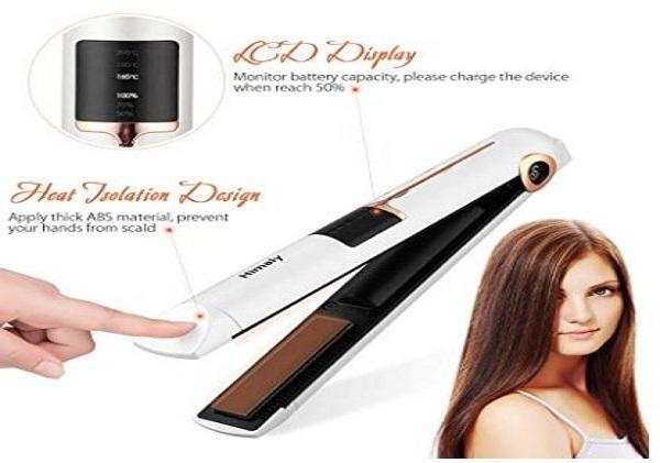 piastra capelli digitale