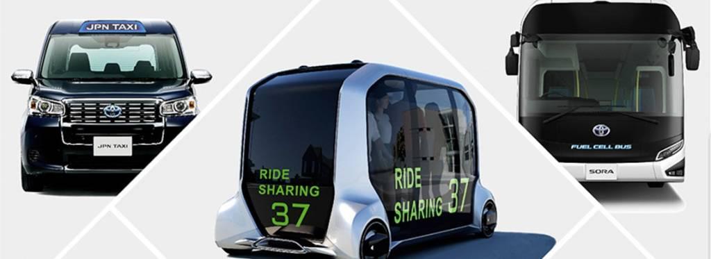 taxi robot Toyota