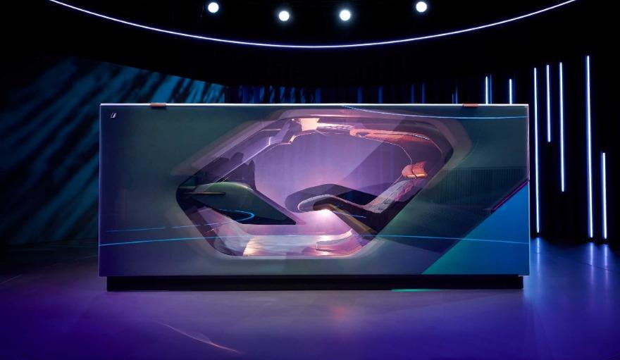 Concept car astratta BMW