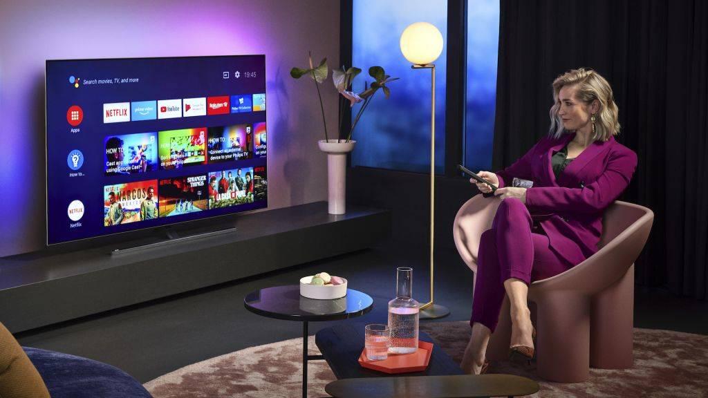 Nuova gamma TV Philips: OLED con intelligenza artificiale