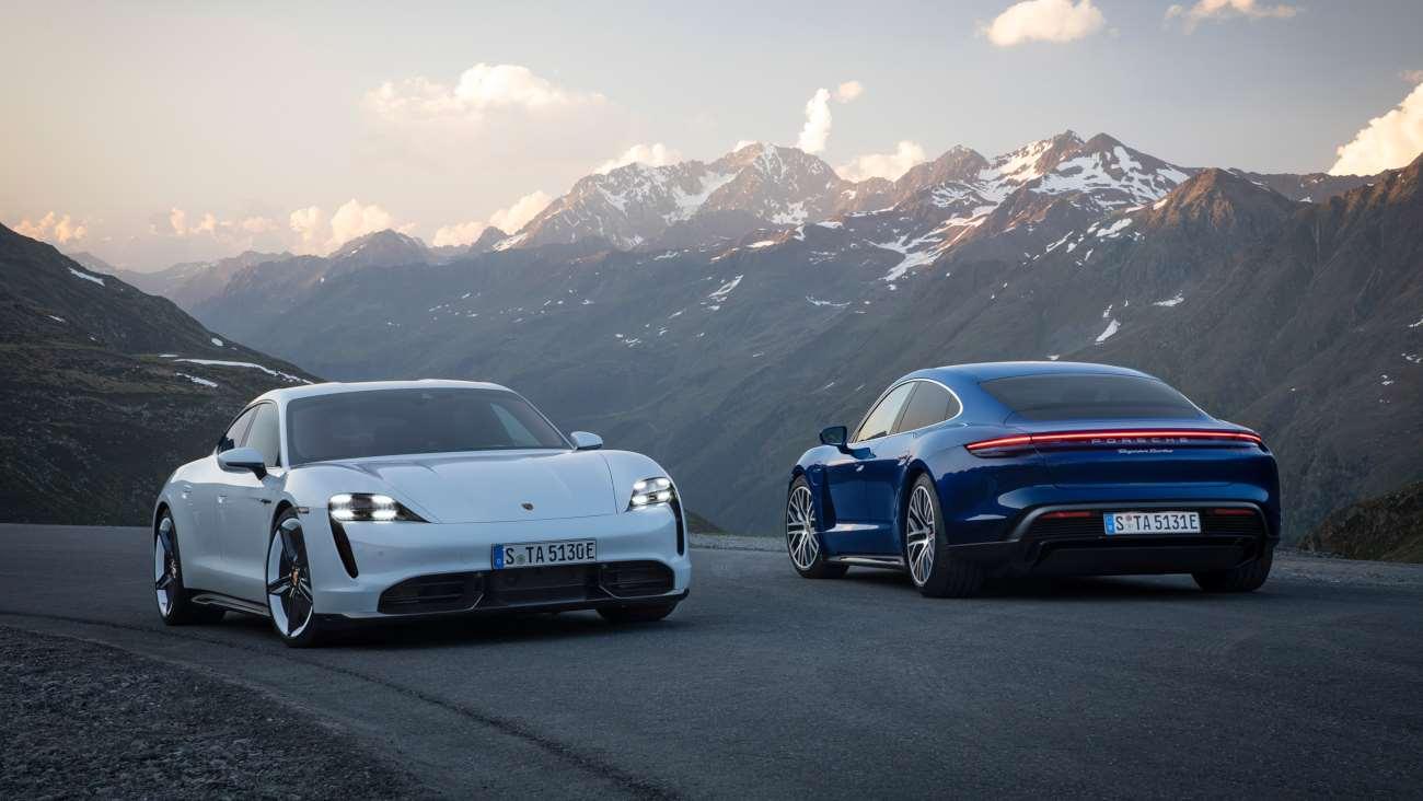 Auto Elettriche: Porsche Taycan