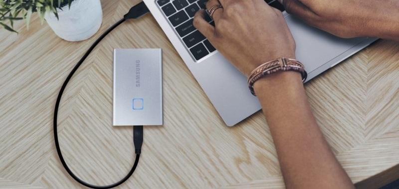 SSD T7 Touch Samsung prezzi