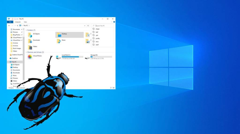 Vulnerabilità in Windows 10