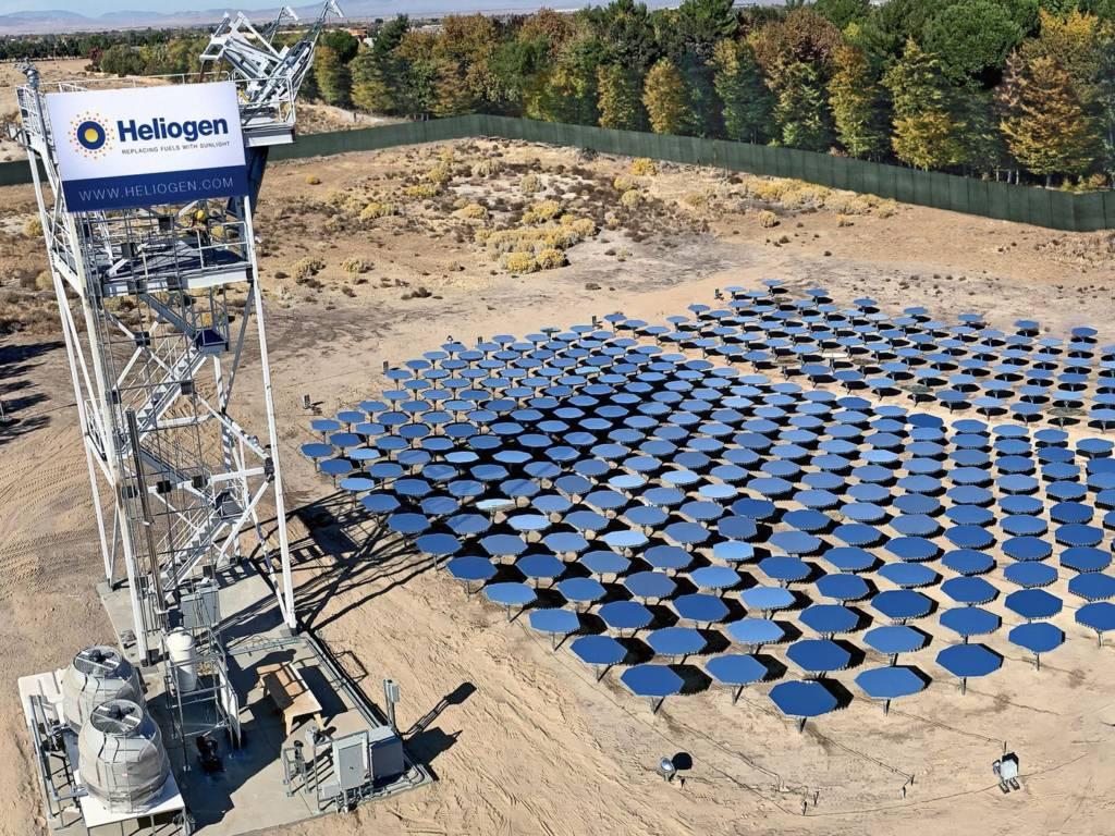 Heliogen: pannelli solari ed intelligenza artificiale